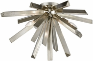 Dimond 1141-099 Cataclysm Contemporary Silver Leaf Ceiling Light