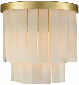 Dimond 1142-014 Orchestra Contemporary Gold Leaf Wall Lamp