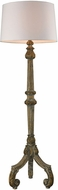 Dimond 1202-004 Mathilde Aged Woodtone Floor Lamp