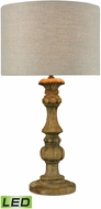 Dimond 1202-006-LED Haute-Vienne  Natural Stain LED Table Lamp