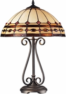 Dimond 70165-2 Diamond Ring Tiffany Burnished Copper Table Lighting