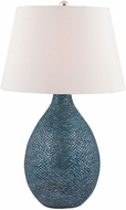 Dimond 8983-030 Syren Blue Mosaic Side Table Lamp