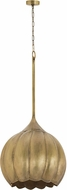 Dimond 8985-051 Contemporary Gold Pendant Lighting Fixture