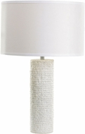 Dimond 8989-001-LED Modern White Marble LED Table Lamp Lighting