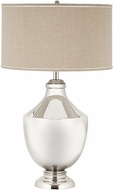 Dimond 8991-001 Modern Polished Nickel Table Top Lamp