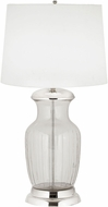 Dimond 8991-004 Modern Clear Glass / Polished Nickel Table Lamp Lighting