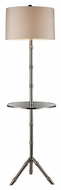 Dimond D1403S Stanton Silver Plated Finish 59  Tall Torch Lamp