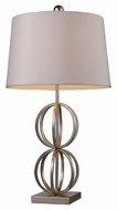 Dimond D1494 Donora Contemporary Silver Leaf Finish 16 Wide Table Lighting
