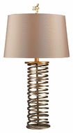 Dimond D1519 Westberg Moor Santa Fe Muted Gold Finish 16 Wide Table Lighting