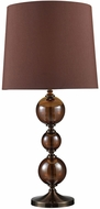 Dimond D1605 Dravos Contemporary Bronze / Coffee Plating Table Top Lamp