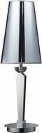 Dimond D2202 Oxford Contemporary Chrome Table Top Lamp