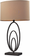 Dimond D2211 Haven Modern Bronze Side Table Lamp
