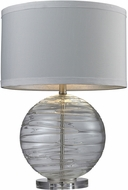 Dimond D241 Blown Glass Contemporary Sapphire Table Lamp