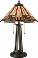 Dimond D2424 Carris Tiffany Tiffany Bronze Lighting Table Lamp