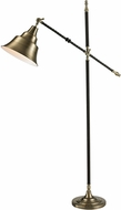Dimond D2445 Summerby Modern Antique Brass / Black Floor Lighting