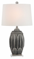 Dimond D2450 Landry Georgetown Grey Glaze Finish 18  Wide LED Table Lamp