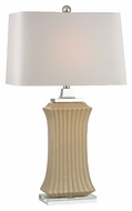 Dimond D2451 Wiltshire Cream Crackle Finish 35  Tall LED Table Light