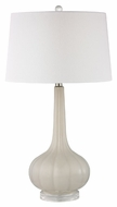 Dimond D2458 Abbey Lane Off White Finish 16  Wide LED Side Table Lamp