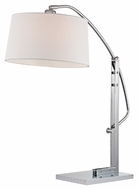 Dimond D2470 Assissi Polished Nickel Finish 32  Wide LED Lighting Table Lamp