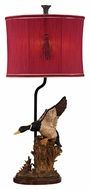 Dimond D2482 Duck Hunt Rustic Whitsun Finish 29  Tall LED Table Top Lamp