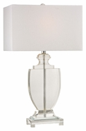 Dimond D2483 Avonmead Clear Finish 16  Wide LED Side Table Lamp
