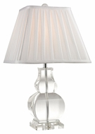 Dimond D2487 Downtown Clear Finish 19  Tall Table Lighting