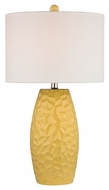 Dimond D2500 Selsey Sunshine Yellow Finish 27  Tall LED Lighting Table Lamp