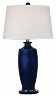 Dimond D2524 Halisham - Navy Navy Blue With Black Nickel Finish 15  Wide LED Table Lamp