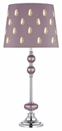 Dimond D2526 Irvine Lilac Luster With Chrome Finish 13  Wide LED Table Lighting