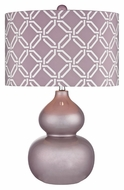 Dimond D2528 Ivybridge Lilac Luster Finish 15  Wide LED Table Lamp Lighting
