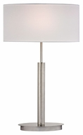 Dimond D2549 Port Elizabeth Satin Nickel Finish 15  Wide LED Table Lamp Lighting