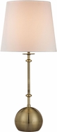 Dimond D2740 Modern Antique Brass Side Table Lamp