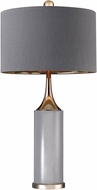 Dimond D2749-LED Contemporary Grey / Gold LED Side Table Lamp