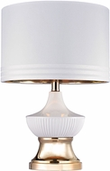 Dimond D2754 Modern Gloss White / Gold Table Light