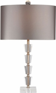 Dimond D2763 Clear / Gold Side Table Lamp