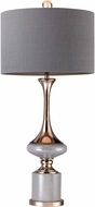 Dimond D2764-LED Contemporary Grey / Gold LED Table Lighting
