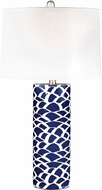 Dimond D2792 Modern Navy Blue / White Table Lighting