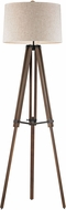 Dimond D2817-LED Contemporary Walnut / Oil Rubbed Bronze LED Floor Lighting