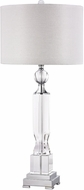 Dimond D2837-LED Clear Crystal / Chrome LED Table Lamp Lighting