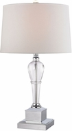 Dimond D2838 Clear Crystal / Chrome Table Top Lamp