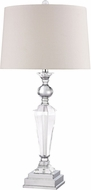 Dimond D2840 Clear Crystal / Chrome Table Lamp