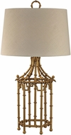 Dimond D2864-LED Contemporary Gold Leaf LED Table Lamp