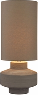 Dimond D2874-LED Contemporary Grey Clay LED Table Lamp Lighting