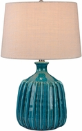 Dimond D2879 Modern Turquoise Glaze Side Table Lamp