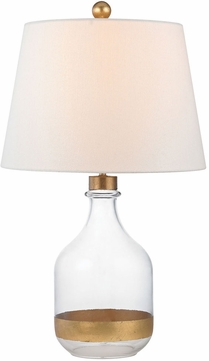 Dimond D2902 Castilla Gold Leaf Lighting Table Lamp