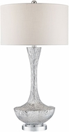 Dimond D2937 Cape Town Silver Plate Table Lamp