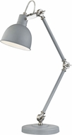 Dimond D2959 Otto Modern Industrial Grey / Satin Nickel Lighting Table Lamp