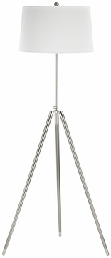 Dimond D3033 Academy Contemporary Satin Nickel Polished Chrome Floor Lighting