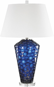 Dimond D3062 Ebullience Blue Table Lamp