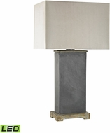 Dimond D3092-LED Elliot Bay Grey Slate LED Exterior Table Lighting